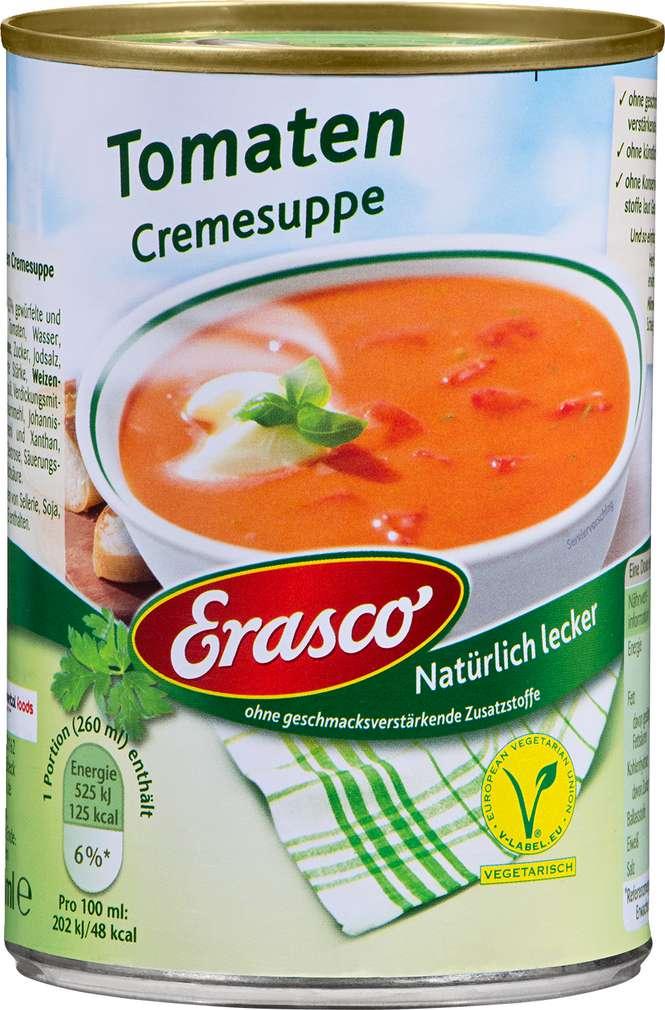 Abbildung des Sortimentsartikels Erasco Tomatencreme-Suppe 390ml