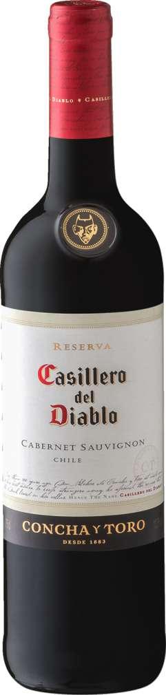 Abbildung des Sortimentsartikels Casillero del Diablo Cabernet Sauvignon 0,75l