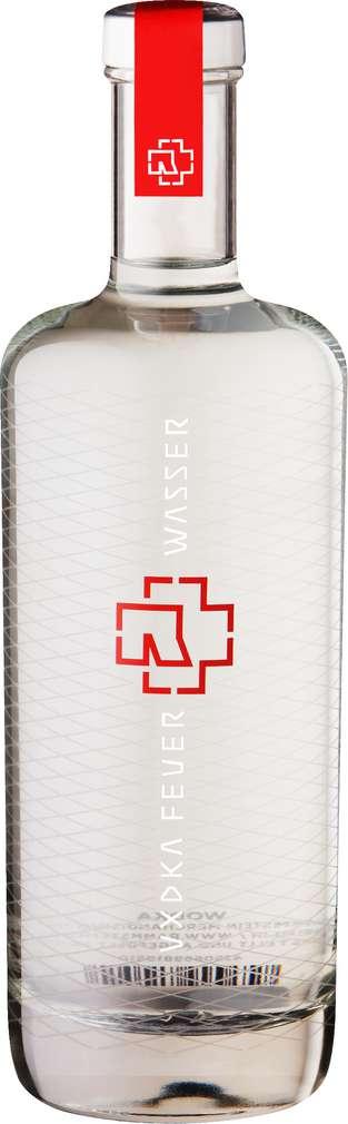 Abbildung des Sortimentsartikels Schilkin Rammstein Wodka Feuer & Wasser 40% - Vol. 0,7l