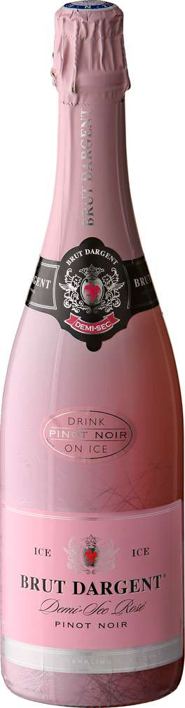 Abbildung des Sortimentsartikels Brut Dargent Pinot Noir Demi Sec Rosé 0,75l
