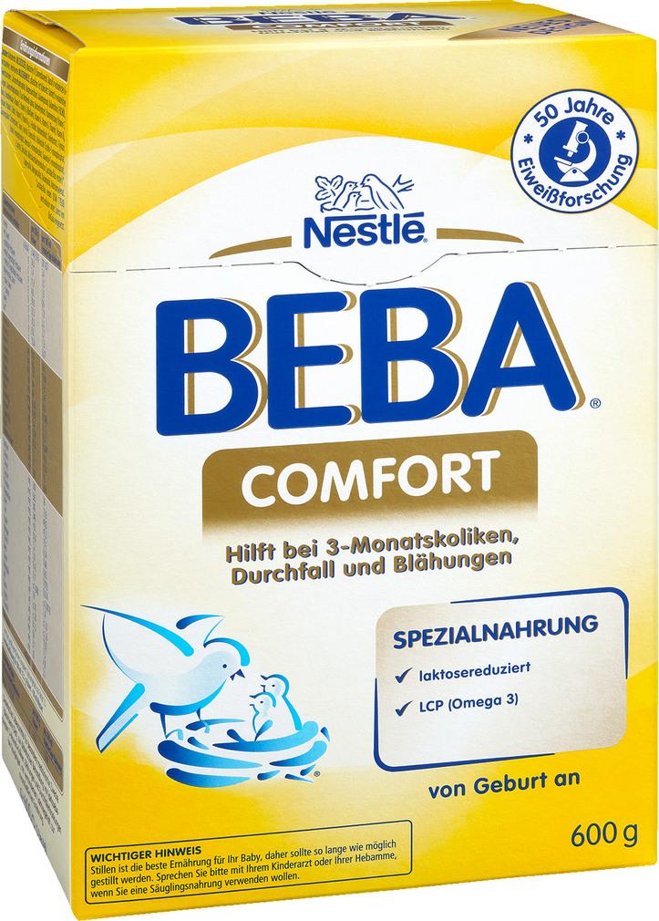 Abbildung des Sortimentsartikels Nestlé Beba Comfort Spezialnahrung 600g