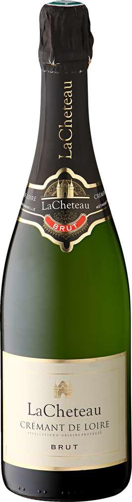 Abbildung des Sortimentsartikels La Cheteau Crémant de Loire Brut 0,75l