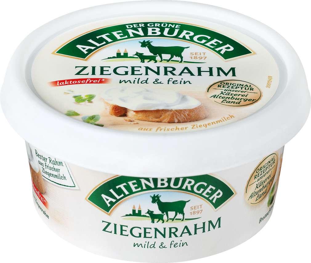 Abbildung des Sortimentsartikels Der Grüne Altenburger Ziegenrahm laktosefrei 150g