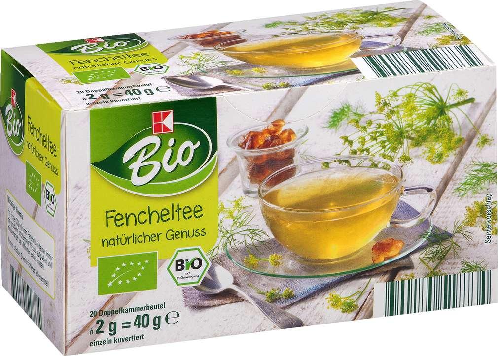 Abbildung des Sortimentsartikels K-Bio Fenchel Tee 20x2g