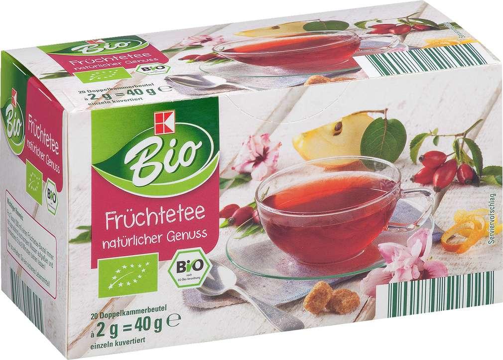 Abbildung des Sortimentsartikels K-Bio Tee Früchte 40g, 20 Beutel