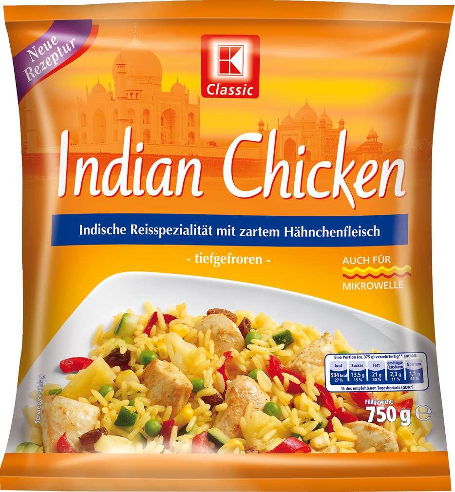 Abbildung des Sortimentsartikels K-Classic Indian Chicken 750g