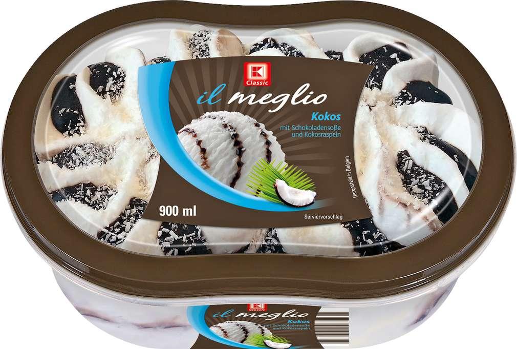 Abbildung des Sortimentsartikels K-Classic Il Meglio Kokos Eis 900ml