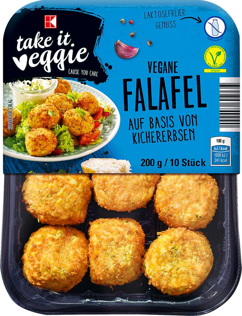 Abbildung des Sortimentsartikels K-Take it Veggie Vegane Falafel 200g