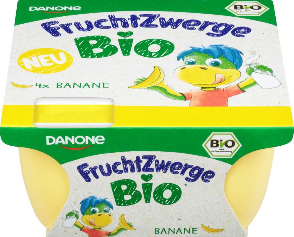 Abbildung des Sortimentsartikels Danone Fruchtzwerge Bio Banane 4x50g