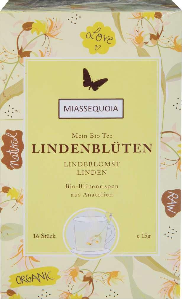 Abbildung des Sortimentsartikels Miassequoia Türkischer Bio-Tee Lindenblütentee 15g