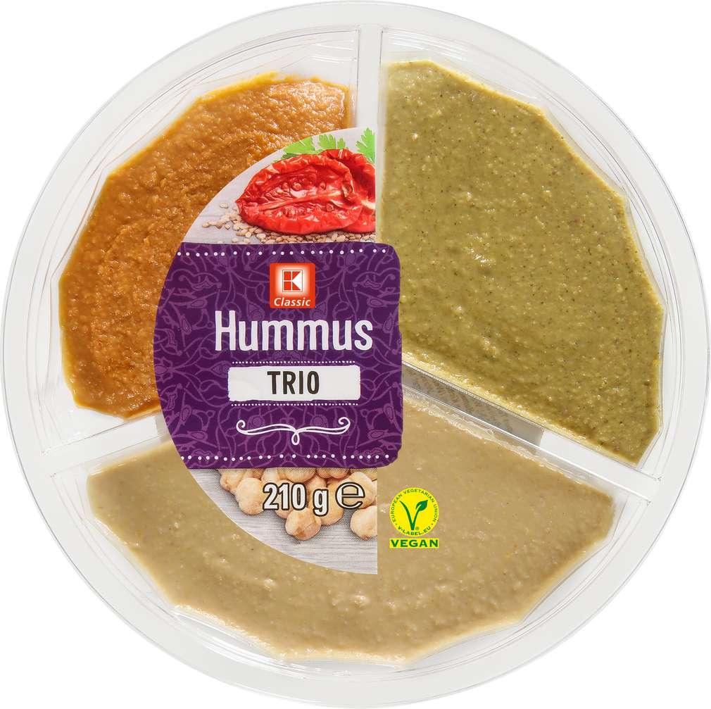 Abbildung des Sortimentsartikels K-Classic Hummus Trio 210g