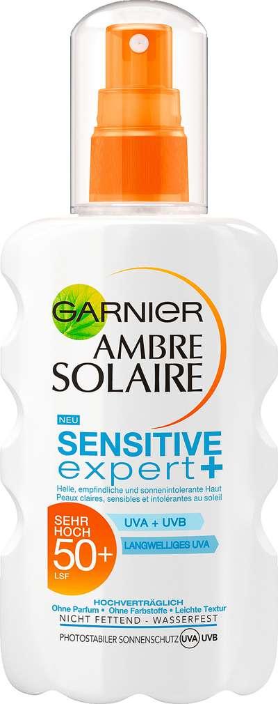 Abbildung des Sortimentsartikels Garnier Ambre Solaire Sonnenschutz Sensitiv Expert 200ml