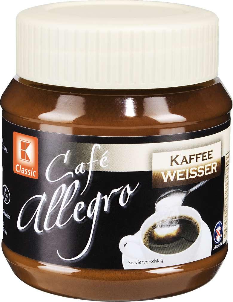 Abbildung des Sortimentsartikels K-Classic Café Allegro Kaffeeweißer 250g