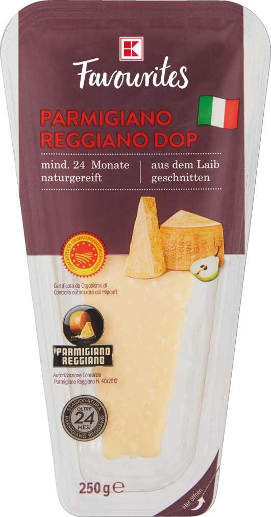 Abbildung des Sortimentsartikels K-Favourites Parmigiano Reggiano am Stück 250g