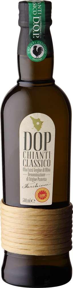 Abbildung des Sortimentsartikels Farchioni Ital.Olivenöl. D.O.P extra nativ, Chianti 500ml