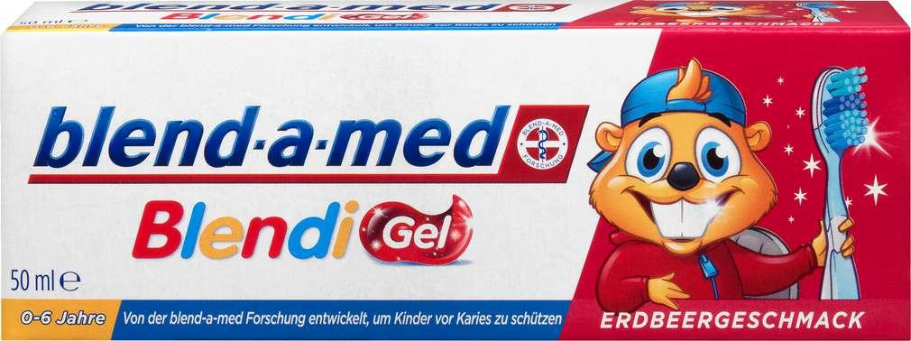Abbildung des Sortimentsartikels Blend-a-med Zahncreme Kinder Blendi Gel Erdbeere 50ml