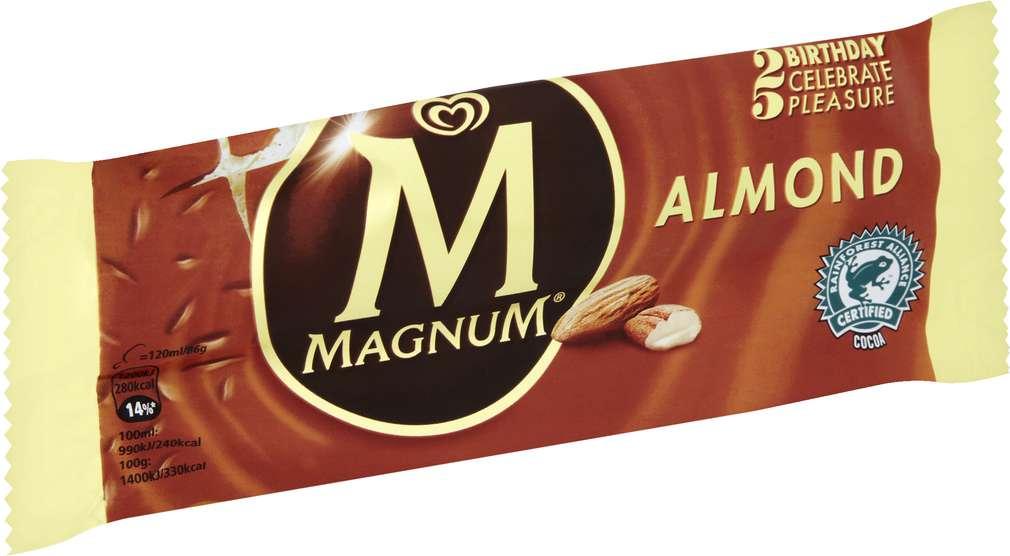 Abbildung des Sortimentsartikels Magnum Magnum Almond 120ml