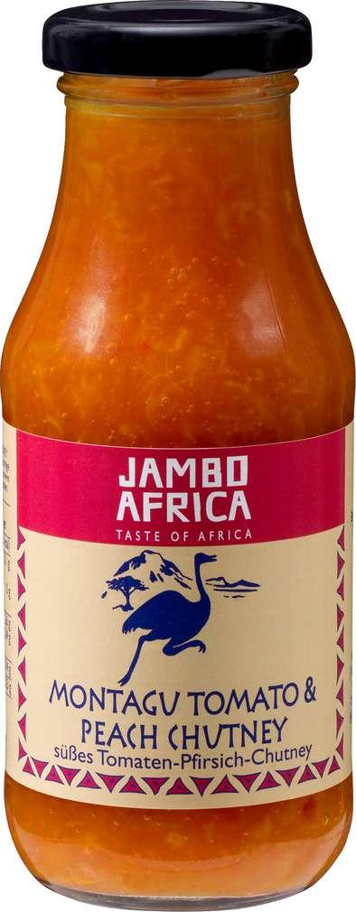 Abbildung des Sortimentsartikels Jambo Africa Tomaten-Pfirsich-Chutney 275g
