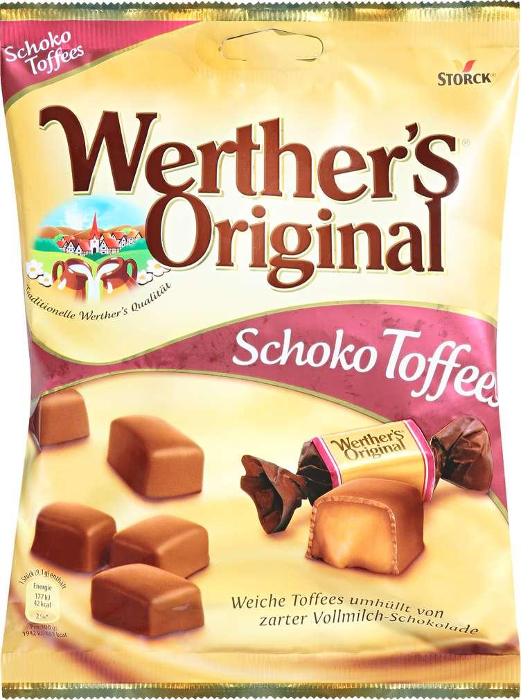 Abbildung des Sortimentsartikels Werther's Original Storck Schoko Toffee 180g