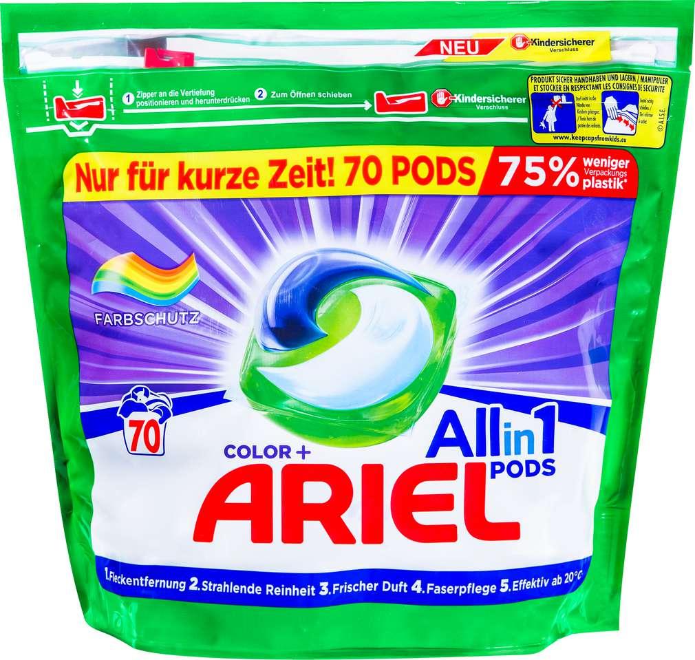 Abbildung des Sortimentsartikels Ariel Pods All in 1 Colorwaschmittel 70WL=2,1 kg