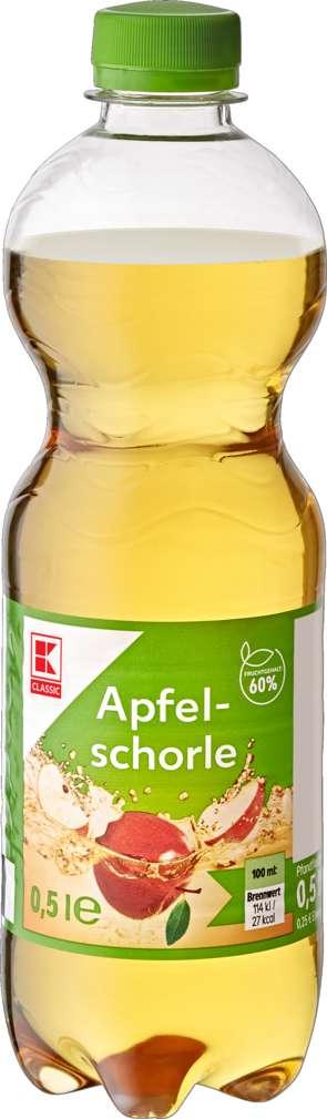 Abbildung des Sortimentsartikels K-Classic Apfelschorle 0,5l