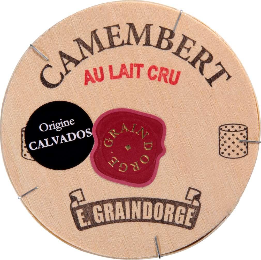 Abbildung des Sortimentsartikels Münnich fromage Rohmilch Camembert La Graindorge 45% Fett i.Tr. 250g