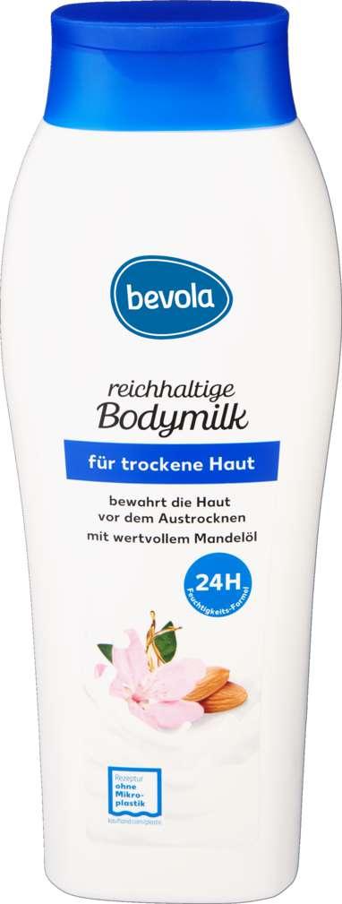 Abbildung des Sortimentsartikels Bevola Bodymilk für trockene Haut 500ml