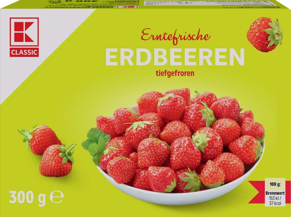 Abbildung des Sortimentsartikels K-Classic Erdbeeren 300g