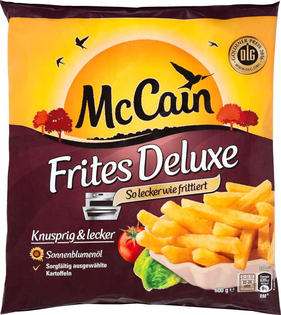 Abbildung des Sortimentsartikels Mc Cain Frites Deluxe 600g