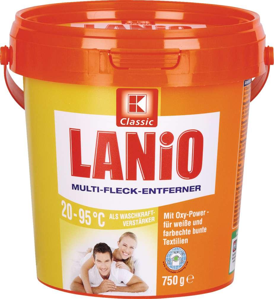 Abbildung des Sortimentsartikels K-Classic Lanio Multi-Fleck-Entferner 750g