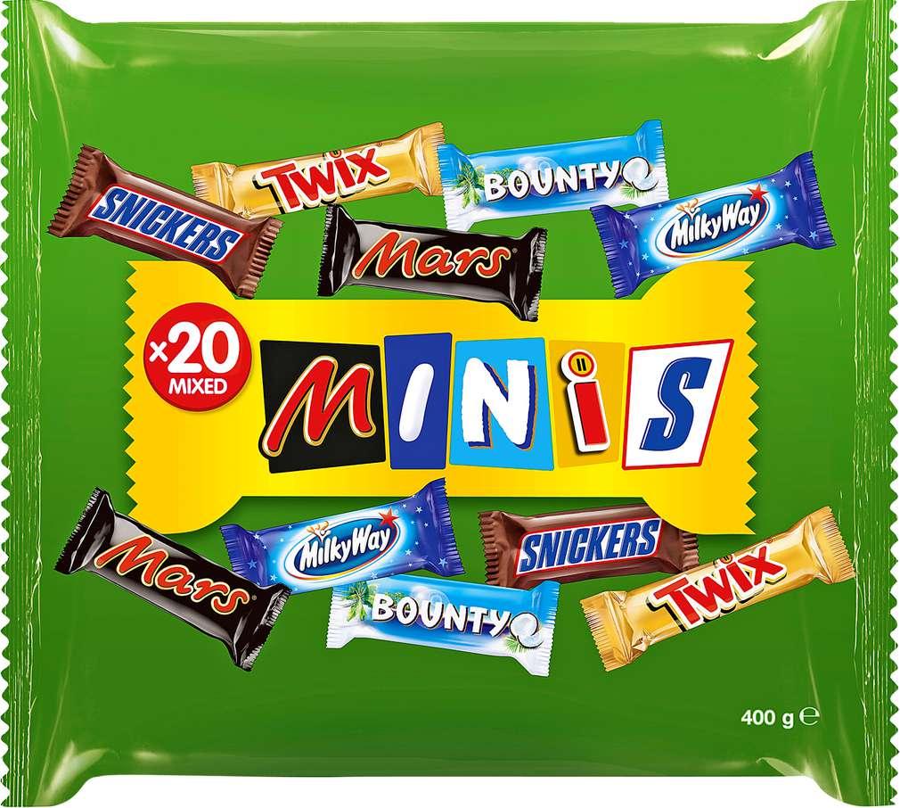 Abbildung des Sortimentsartikels Mars Minis 20 Riegel