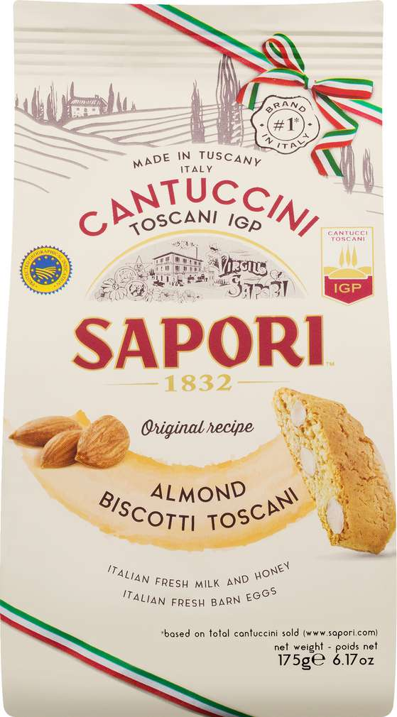 Abbildung des Sortimentsartikels Sapori Cantuccini Mandel 175g