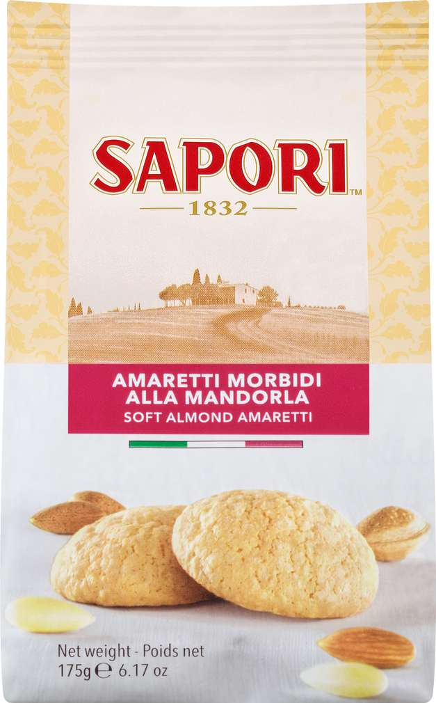 Abbildung des Sortimentsartikels Sapori Amaretti Soft 175g