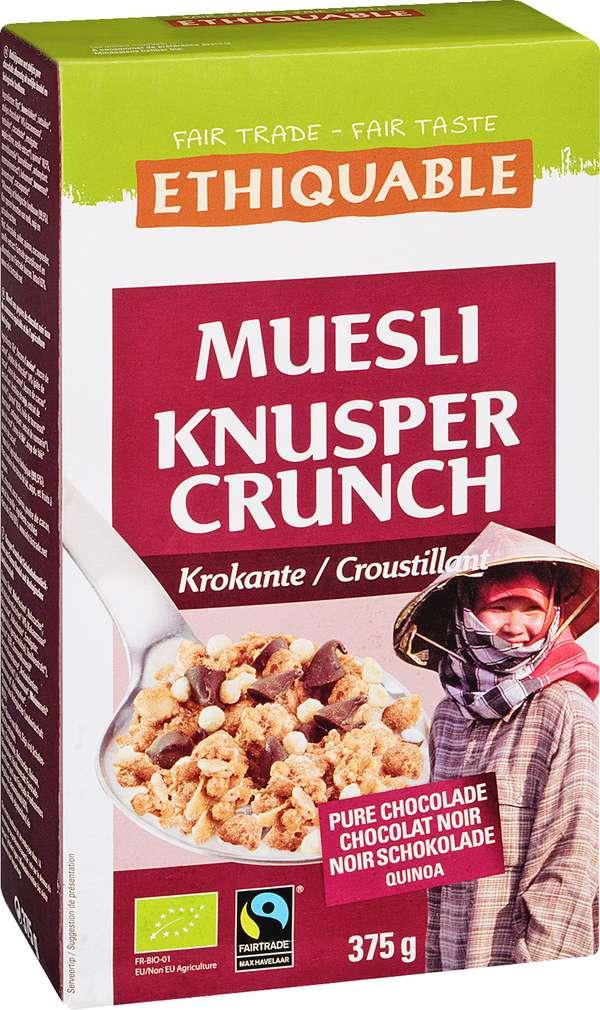Abbildung des Sortimentsartikels Ethiquable Müsli Knusper Crunch Krokant 375g