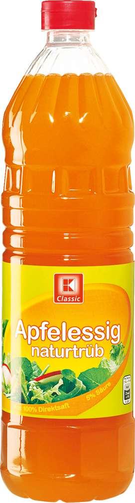Abbildung des Sortimentsartikels K-Classic Apfelessig 1l