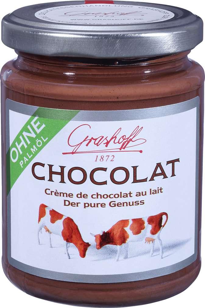 Abbildung des Sortimentsartikels Grashoff Milch Chocolat Der pure Genuss 250g