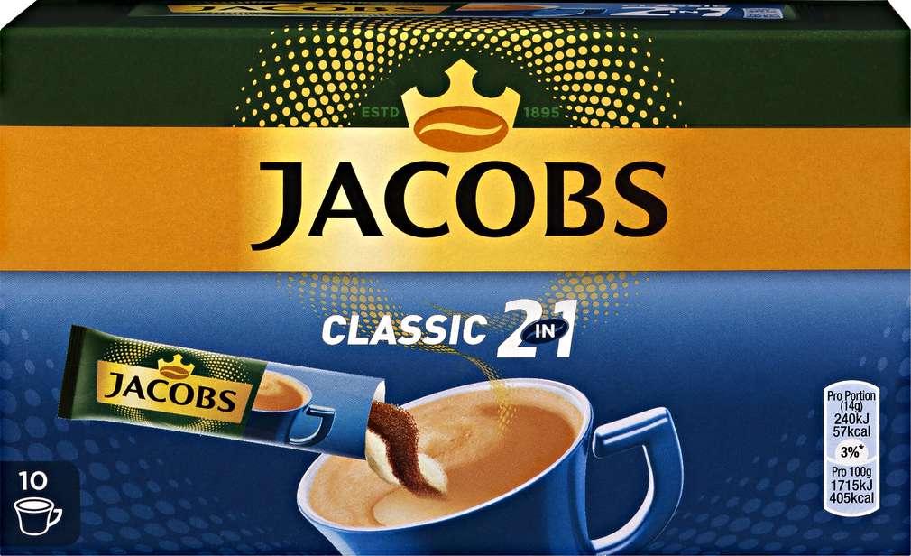 Abbildung des Sortimentsartikels Jacobs 2 in 1 10x14g