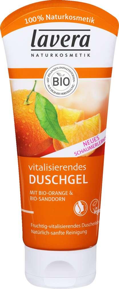 Abbildung des Sortimentsartikels Lavera Duschgel Bio-Orange/Sanddorn 200ml