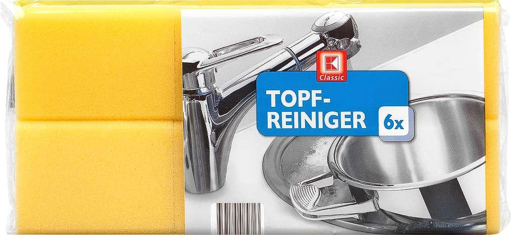 Abbildung des Sortimentsartikels K-Classic Topfreiniger 6 Stück
