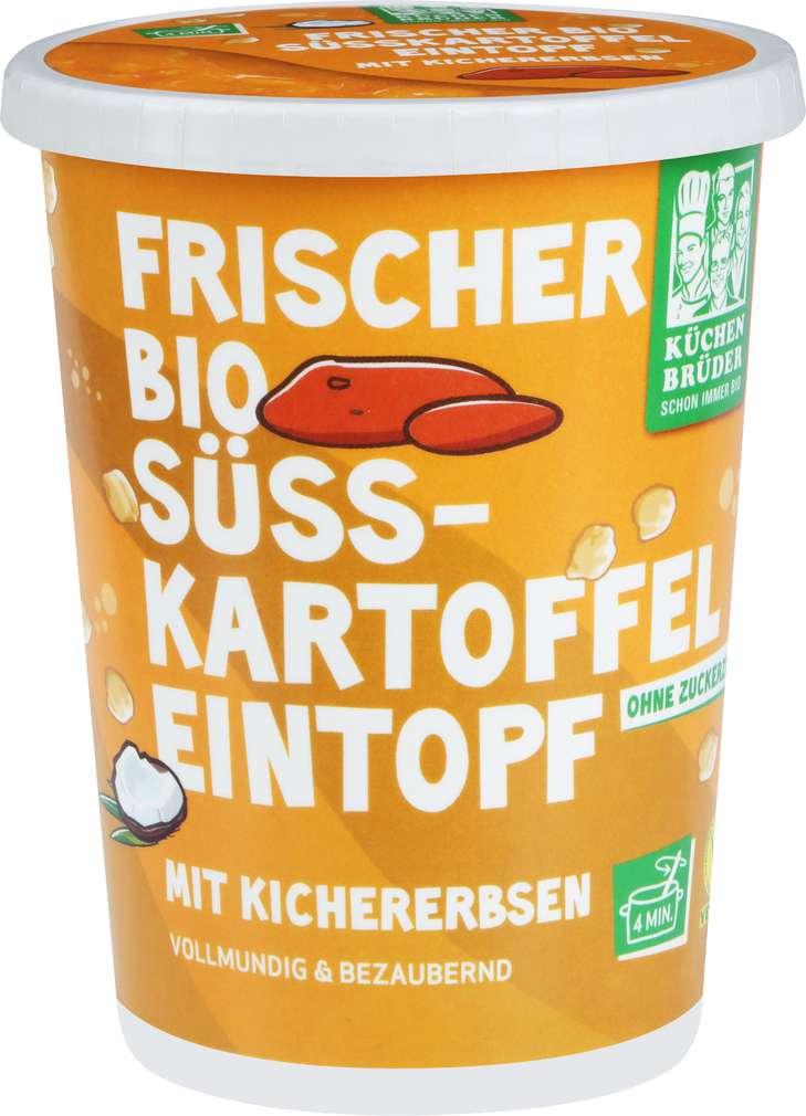 Abbildung des Sortimentsartikels Küchenbrüder Bio-Eintopf Süsskartoffel 400g