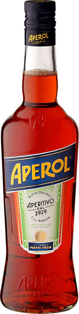 Abbildung des Sortimentsartikels Aperol Aperitivo 15%-Vol. 0,7l