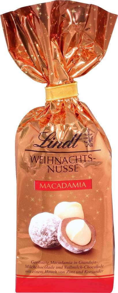 Abbildung des Sortimentsartikels Lindt Weihnachts-Nüsse Macadamia 100g