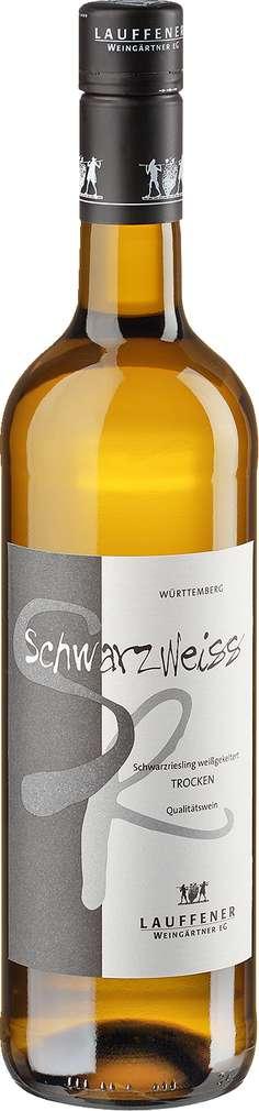 Abbildung des Sortimentsartikels Lauffener Weingärtner SchwarzWeiss Schwarzriesling weißgekeltert 0,75l