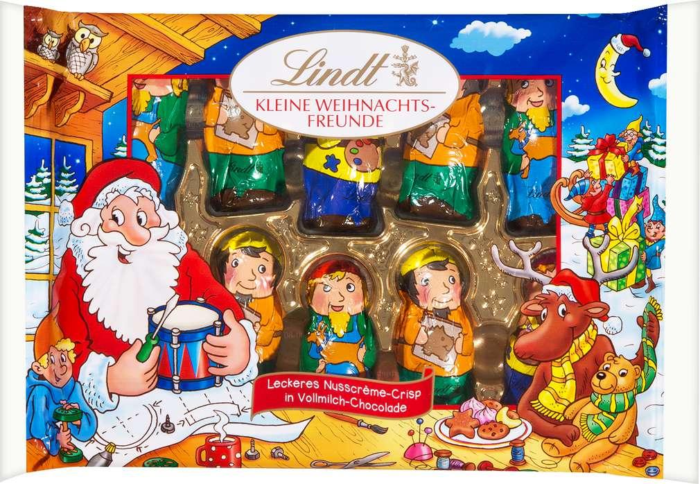 Abbildung des Sortimentsartikels Lindt Kleine Weihnachtsfreunde 100g