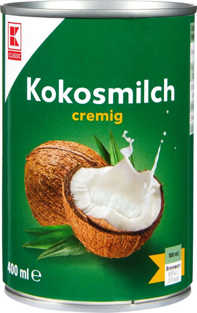 Abbildung des Sortimentsartikels K-Classic Kokosmilch 400ml