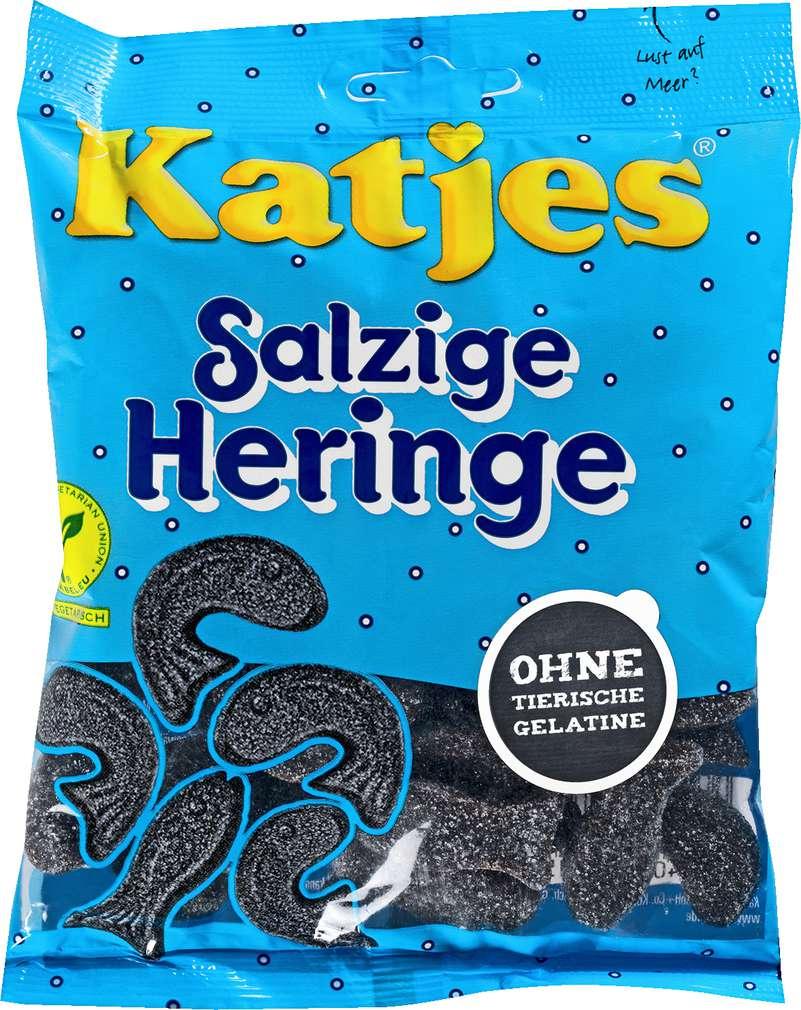 Abbildung des Sortimentsartikels Katjes Salzige Heringe 200g