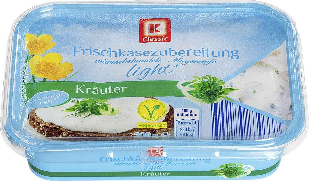 Abbildung des Sortimentsartikels K-Classic Frischkäsezubereitung mit Kräutern light 200g