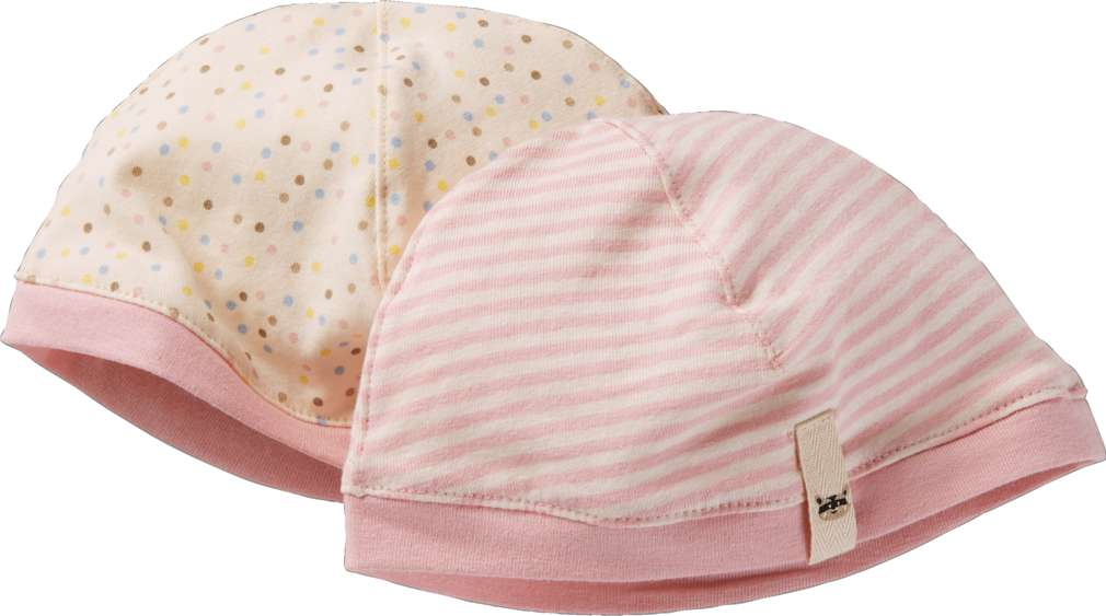 Abbildung des Sortimentsartikels Kuniboo Mädchen Baby Mütze Größe 50-68 - 98/104 1 Packung