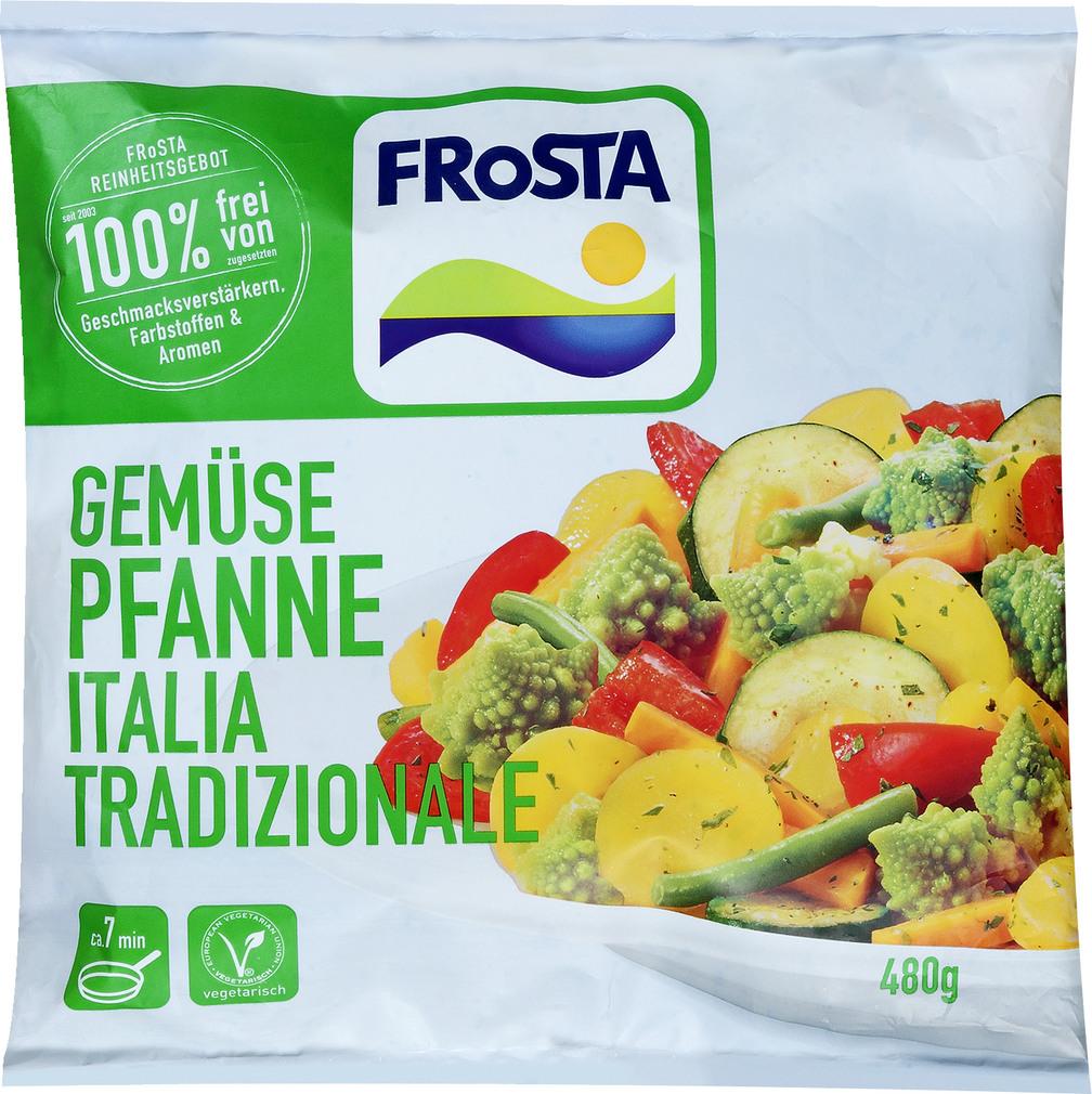 Abbildung des Sortimentsartikels Frosta Gemüsepfanne Italia Tradizionale 480g