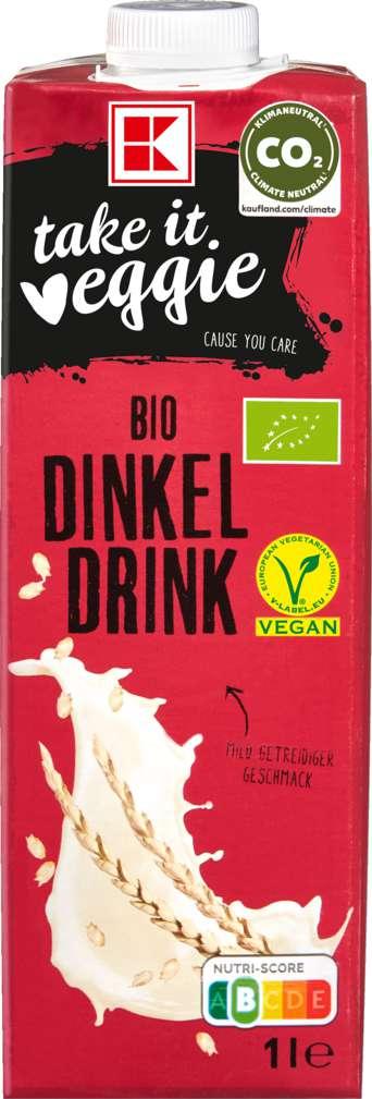 Abbildung des Sortimentsartikels K-Take it Veggie Dinkeldrink 1,0l